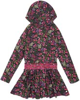Juicy Couture Girls Knit Bucharest Floral Dress