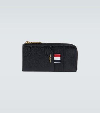 Thom Browne Half-zipped long wallet