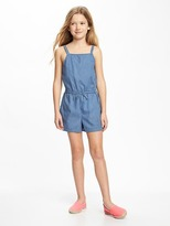 Old Navy Chambray Romper for Girls