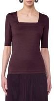 Akris Punto Women's Square Neck Tee