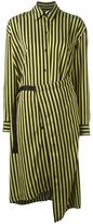 Christian Wijnants 'Dont' striped dress - women - Polyamide/Acetate - 36