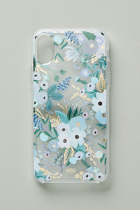 Rifle Paper Co. Garden Party iPhone Case By in Blue Size S