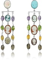 Nuovegioie Mia & Beverly Cameo Cascade Earrings