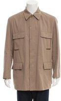 Hermes Safari Satin-Lined Jacket