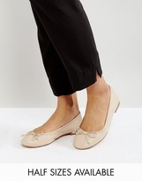Asos LIFESAVER Leather Ballet Flats