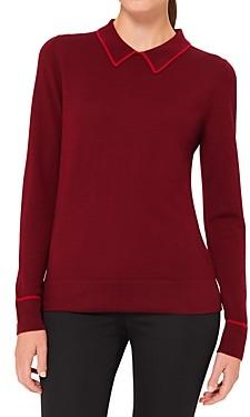 Hobbs London Nicole Contrast Trim Sweater