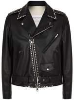 Valentino Rockstud Leather Jacket