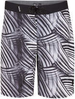 "Hurley Men's Phantom Crest Striped 20"" Boardshorts"