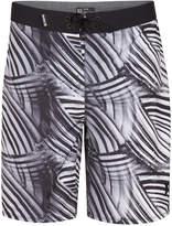 Hurley Men's Phantom Crest Striped 20and#034; Boardshorts