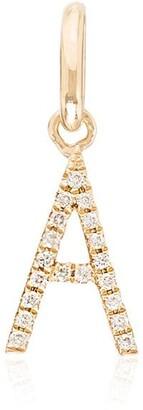 Rosa de la Cruz A 18K yellow gold diamond charm