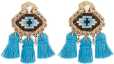 Shourouk Pompon Eye earrings