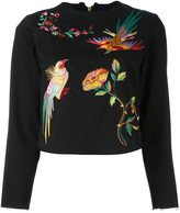 Aries embroidered detail sweatshirt - women - Cotton - 2