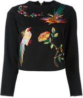 Aries embroidered detail sweatshirt