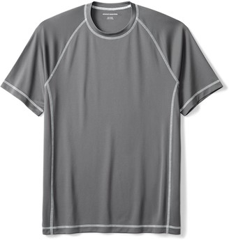 Amazon Essentials Men's Short-Sleeve Loose-Fit Quick-Dry UPF 50 Swim Tee