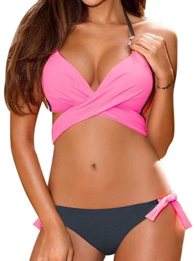 c77b6ebf903c1 Pink Bikini Push Up - ShopStyle Canada