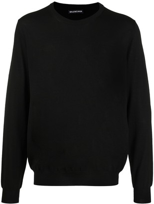 Balenciaga BB crew neck jumper