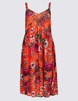 Marks and Spencer Floral Print Swing Midi Dress