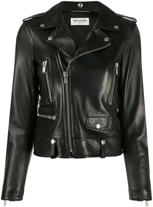Saint Laurent Fitted Biker Jacket