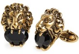 Gucci Men's Lion Head Cuff Links