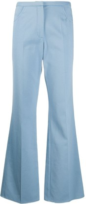 Courreges Flared Fitted Trousers