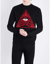 Givenchy Triangle Wool-blend Jumper