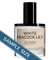 D.S. & Durga Sample - White Peacock Lily EDP by 0.023oz Fragrance)