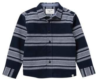 Sovereign Code Norse Striped Checkered Button Up Shirt (Little Boys)