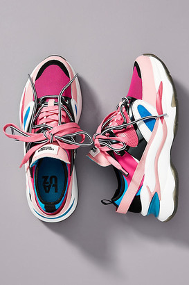 Lola Cruz Dad Sneakers By in Pink Size 38