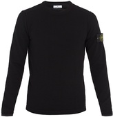 Stone Island Wool-blend crew-neck sweater