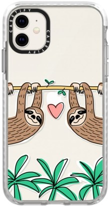 Casetify Sloth Tropical iPhone 11/11 Pro & 11 Pro Max Case