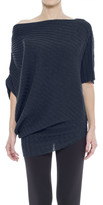 Max Studio Ribbed & Twisted Sweater
