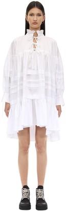 Cecilie Bahnsen Macy Cotton Poplin Shirt Dress