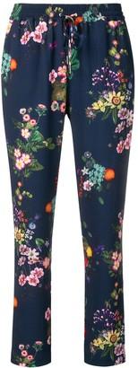 Liu Jo Floral Print Trousers