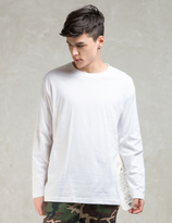 Phenomenon White L/S Big Tag Long T-Shirt
