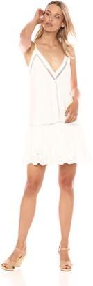 BB Dakota Women's Karleen Eyelet Drop Waiste Dress