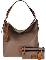 Dooney & Bourke Smooth Leather Hobo withAccessories