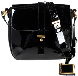 Marc Jacobs Marc by Black Patent Leather Crossbody Bag