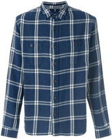Edwin plaid fitted shirt