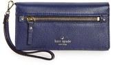 Kate Spade Women's 'Cobble Hill - Rae' Leather Wristlet Wallet - Blue