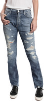GOLDSIGN Stevie Distressed Jeans - Shane