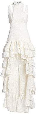 Alexis Women's Varenna Lace Ruffle Gown