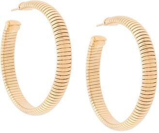 Gas Bijoux Milo ribbed earrings