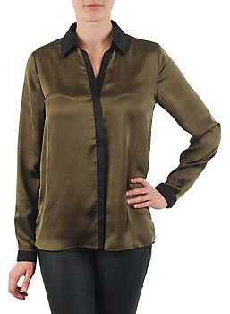 La City O CHEM PATTE women's Shirt in Green