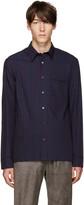 3.1 Phillip Lim Navy and Purple Pyjama Shirt