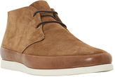 Bertie Curtis Contrast Rand Lace-up Chukka Boots, Tan