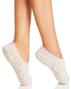 Eberjey Knit Ankle Slipper Socks