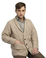 West End Mens Irish Button Down Cardigan
