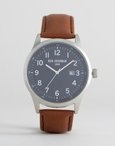 Ben Sherman Tan Leather Strap Watch