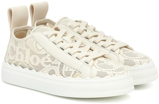 Chloé Lauren lace sneakers