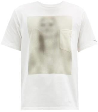 TAKAHIROMIYASHITA TheSoloist. Untitled Woman Cotton-jersey T-shirt - White